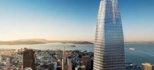 Salesforce открыла самое высокое офисное здание в Калифорнии